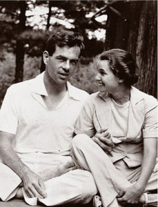Joseph Campbell with Jean, his beloved wife of 49 years.